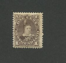 1896 Newfoundland Edward Prince of Whales 1 Cents Postage Stamp #43