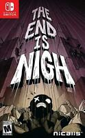 The End is Nigh Nintendo Switch, 2017 Brand New Region Free