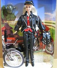 Harley-Davidson #1 Barbie Doll 1997 Limited Edition Black Leather Outfit NEW H2