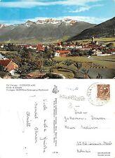 Glorenza Val Venosta Croda di Cengles ACQUARELLATA - Glurns Vinchgau (A-L 457)
