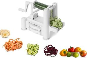 Spiralizer Tri-Blade Spiral Slicer Healthy Living, Healthy Food U.K. seller