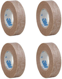 """3M Micropore Hypoallergenic Tan Surgical Tape 1533-0 1/2"""" X 10yd (4 rolls)"""