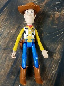 """Disney Pixar Sheriff Woody 9"""" Doll Toy Story 4 Poseable Jointed"""