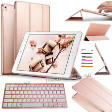 For iPad 9.7 5/6th丨7/8th 10.2丨Air 4th 10.9 Bluetooth Keyboard Leather Cover Case