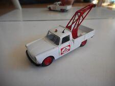 """Eligor Peugeot 404 Towtruck """"Avia"""" in White on 1:43"""