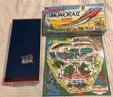 Vtg Disneyland MONORAIL Board GAME Submarine Voyage Parker Bros Hasbro Complete