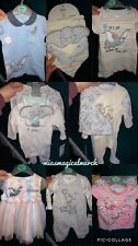 Brand New Baby Primark Disney DUMBO Clothing Romper Bibs Outfit