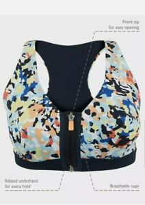 MARKS AND SPENCER Extra High Impact Zip Front Sports BRA BNWT VARIOUS SIZES