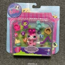 Littlest Pet Shop Sweet Garden Fun Playset With 5 Pets And Accessories New