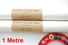"Best Sewable Swedish Tracing Paper 29"" X 10 Yds 73cm X 9.2m Fabric Durable"