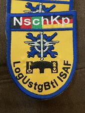 Military ISAF Patch Nsch Kp Shoulder