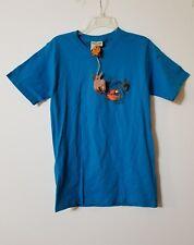Pirano Joe Fish Cozumel Blue T Shirt Short Sleeve Size S NWT