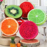 Donut Fruit Cushion Soft Pillow Round Seats Chair Pads Home Sofa Bed Decor UK