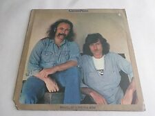 David Crosby Graham Nash Whistling Down The Wire LP 1976 ABC Vinyl Record