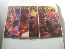 TMNT Shredder in Hell COMPLETE SET of 5 Comics (1-5) NM/1ST PRINTS!!! (A Covers)