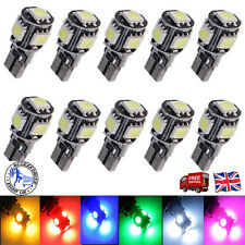 UPTO 10X T10 501 194 168 W5W 5SMD LED ERROR FREE CANBUS Car Side Light Bulb