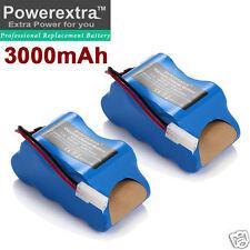 2 pack XB1918 Battery For Euro-Pro Shark V1917 V1950 VX3 Cordless Vacuum Sweeper
