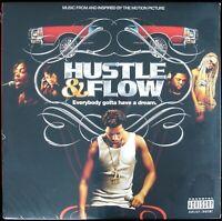 """HUSTLE & FLOW """"SOUNDTRACK"""" 2005 2X VINYL LP ALBUM COMPILATION 20 TRACKS *SEALED*"""