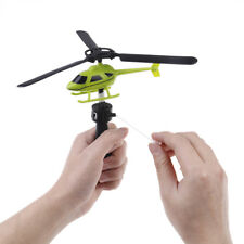 Children Aviation model Handle Pull Plane Outdoor Toys For Baby Helicopter Toy~P