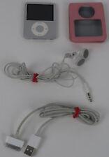 Apple iPod nano 3rd Generation A1236 Silver (4 GB) Bundle - Tested