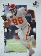 NFL 42 JONY Gonzalez Kansas City chef TOPPS 2000 SP Authentic