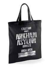 DC Comics Arkham Asylum Batman Joker Tote Bag Shopping Eco Reusable Official