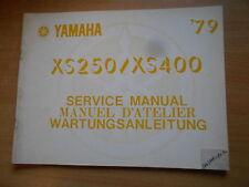 Werkstatthandbuch Yamaha XS 250 400 (3N6)  Service manual Manuel d`atellier