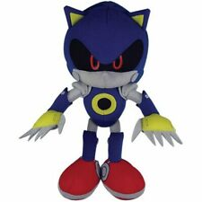 SONIC THE HEDGEHOG - METAL SONIC PLUSH - 11inch AUTHENTIC SEGA ANIME. IN STOCK!