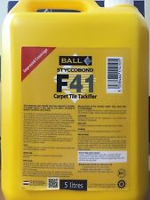 F-Ball Styccobond F41 Carpet Tile Tackifier 5 Litres/ Carpet/Flooring Adhesives