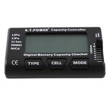 Li-lon Kapazität Tester Akku Tester Lipo Cell Meter LCD Display Messgerät SX