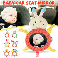 Car Mirror Unbreakable Baby Car Seat Rear View Mirror for Toddler Safety