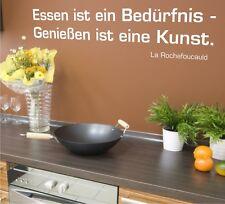 Wandtattoo Wandaufkleber Spruch Küche Motiv: A004