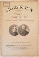 LAVEDAN LENOTRE VARENNES 21 MAGGIO 1904 L'ILLUSTRATION TEATRO GEORGES SCOTT