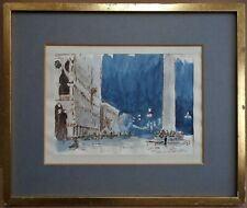 Doge's Palace Venice. Watercolour by listed artist Colonel Frederick Beddington