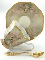 Teacup Saucer Dance of Delight Lena Liu Enchanted Wings Bradford Exchange S491