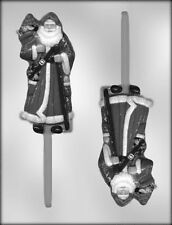 Christmas Chocolate Mould - Traditional Santa on Stick