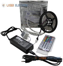Striscia LED Professionale IP20 Interno RGB SMD5050 72W Multicolore Telecomando