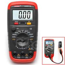 UA6013L Capacitor Digital Auto Range LCD Monitor Capacitance Tester Meter