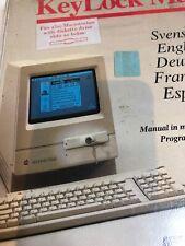 KeyLock Mac Vintage Apple Macintosh Security Lock Classic LC Quadra SE30 Plus II