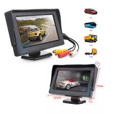 """Monitor 4.3"""" pollici LCD Manovre di retromarcia Auto Camper Videosorveglianza 4"""""""