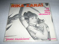 RIKA ZARAI 45 TOURS FRANCE 21 RUE DES AMOURS