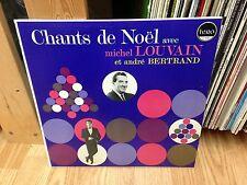 """MICHEL LOUVAIN LP """" Chants De Noël Avec Michel Louvain .. """" LERO Canada"""