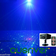 40 Gobos LED Stage Light Party Disco Light Sound Active Laser Projector Remote