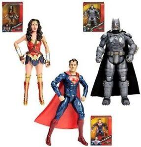 Dawn of Justice DC Multiverse Batman Superman Wonder Woman Action Figure Set NEW