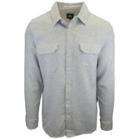 Rip Curl Men's Light Grey L/S Flannel Shirt (S15)