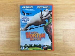 Dr. Seuss' Horton Hears A Who! (DVD, 2008) - Region 2 PAL.