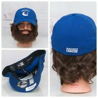 Vancouver Canucks New Era NHL Hockey 39THIRTY Fitted L/XL Cap Hat Blue White New