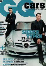 GQ CARS, Frühjahr 2004,Audi A6,SLK,BMW 6er Cabrio,Astra,Smart For4,Ferrari 612