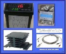 Programmable Temperature Controller Ssr Relay Thermocouple Ramp Soak Heat Sink F