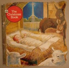 The Christmas Book Golden Shape Donna Kelly 2nd Print 1977 EXCELLENT